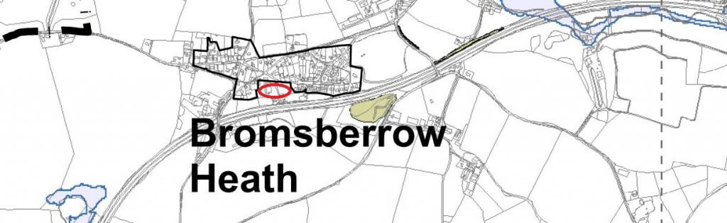 Bromesberrow Heath SF Planning Limited self-build