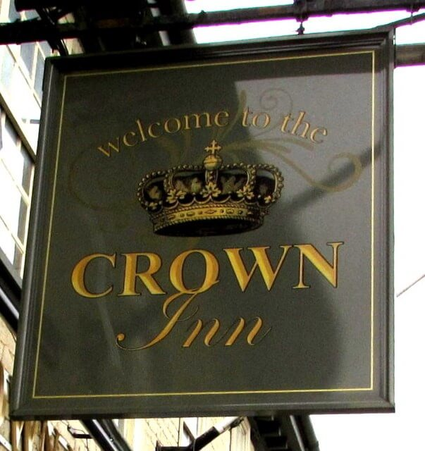 The Crown Inn. Sign. SF Planning Limited.