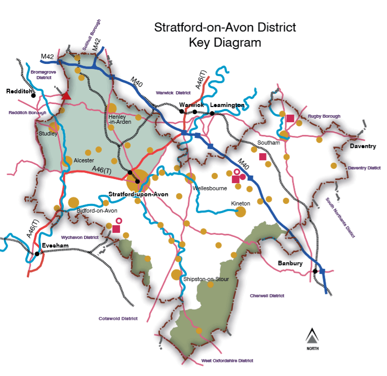 Stratford, sites, land, development