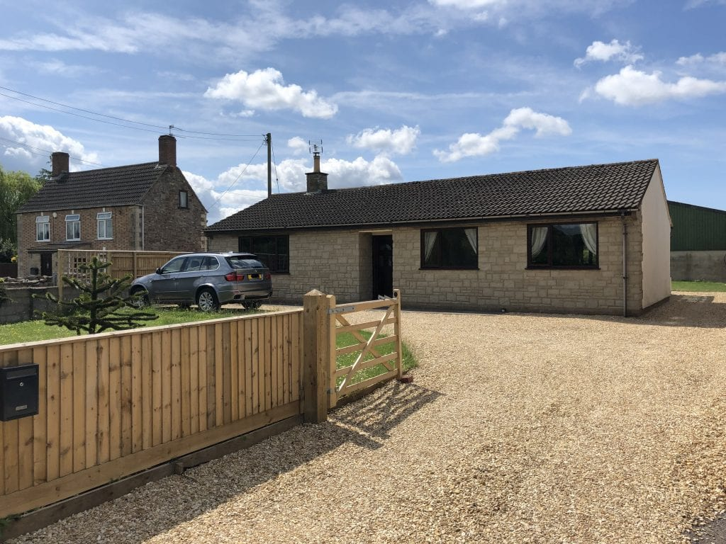 Property in Woodford within Stroud District.