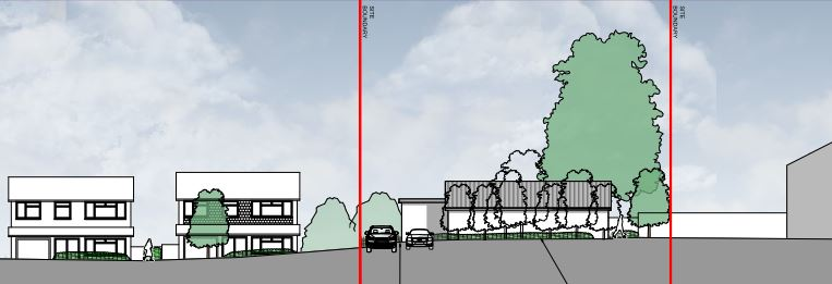 Sketch for planning permission application